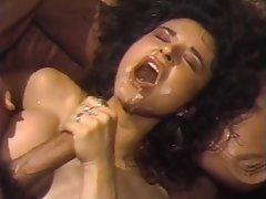 Brunette, Cumshot, Pornstar, Vintage