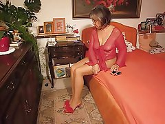 Foot Fetish, German, Granny, Mature