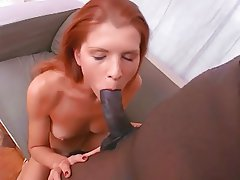 Babe, Big Black Cock, Big Cock, Interracial, Skinny