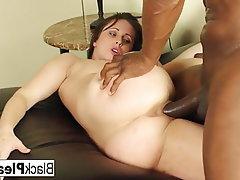 Brunette, Hardcore, Pornstar, Interracial, Big Cock