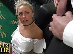 Blonde, Blowjob, BDSM, Bondage, Tattoo