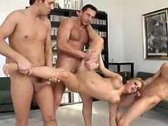 Anal, Big Tits, Blonde, Cumshot, Facial
