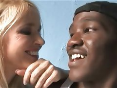Blonde, Mature, Interracial