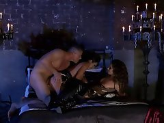 Anal, Babe, Brunette, Threesome