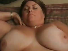 BBW, Big Boobs, Brunette, Hardcore, POV