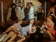 French, Group Sex, Hairy, Swinger, Vintage