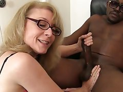 Blowjob, Interracial, MILF