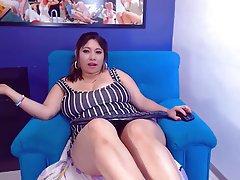 BBW, Big Butts, Masturbation, Webcam