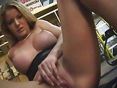 Babe, Blonde, Masturbation, MILF