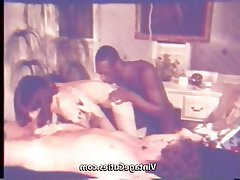 Blowjob, Group Sex, Interracial, Threesome, Vintage